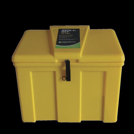 Interventiekit in kunststof koffer - Protecta Solutions