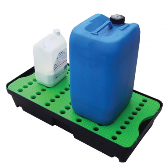 Kunststof spill tray met rooster - Protecta Solutions