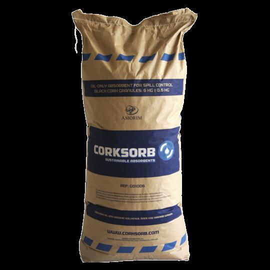 Corksorb olieabsorberende korrels - Protecta Solutions