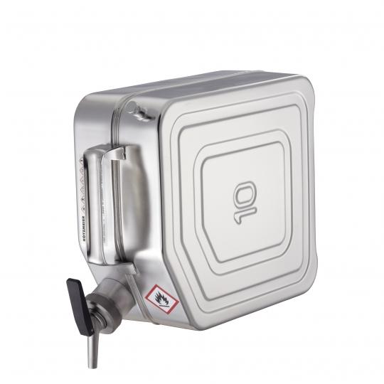 Veiligheidsjerrycan in INOX - Protecta Solutions