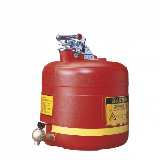 HDPE veiligheidskan met tapkraan - Protecta Solutions