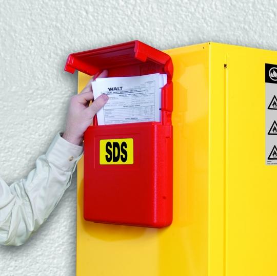 Documentenhouder voor handleiding - Protecta Solutions