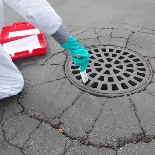 Identificatiestrips voor afvalwater - protecta Solutions
