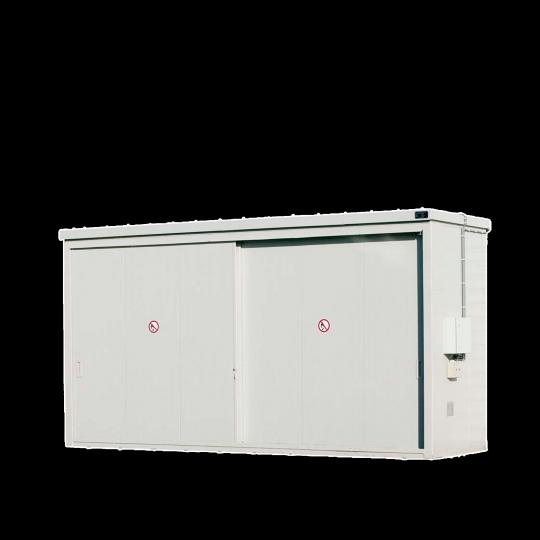 Brandwerende opslagcontainers met schuifdeuren - Protecta Solutions