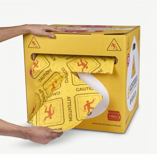 ADSORBIX High Visibility doeken op rol - Protecta Solutions