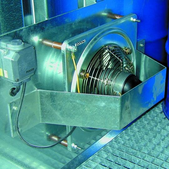 ATEX geforceerde ventilatie