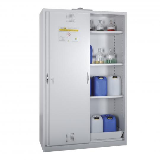 Chemicaliënkasten met schuifdeuren - Protecta Solutions
