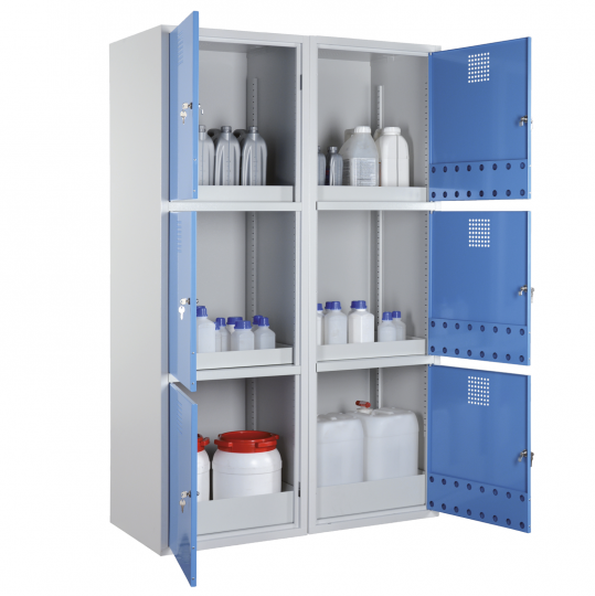 Combinatie chemicaliënkast - Protecta Solutions