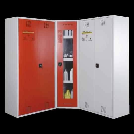 Chemiekast opstelling - Protecta Solutions