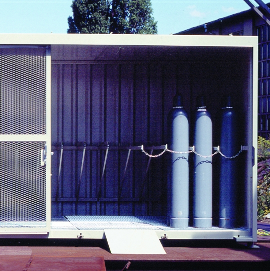 Gasflessencontainer - Protecta Solutions