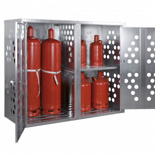 Gasflessenkasten - Protecta Solutions