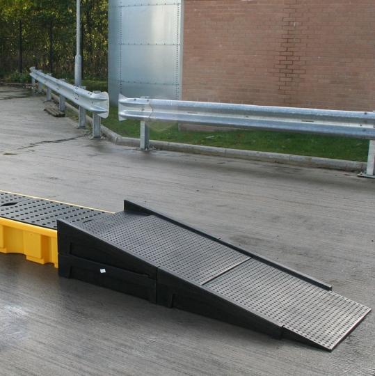 Kunststof oprijpalaat - Protecta Solutions