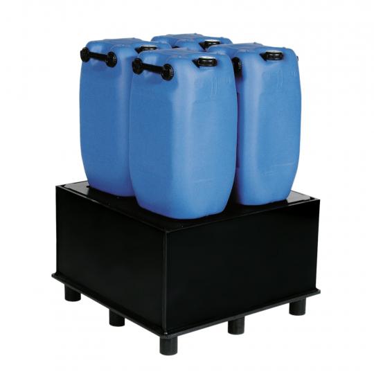 HDPE lekbakken voor vaten - Protecta Solutions