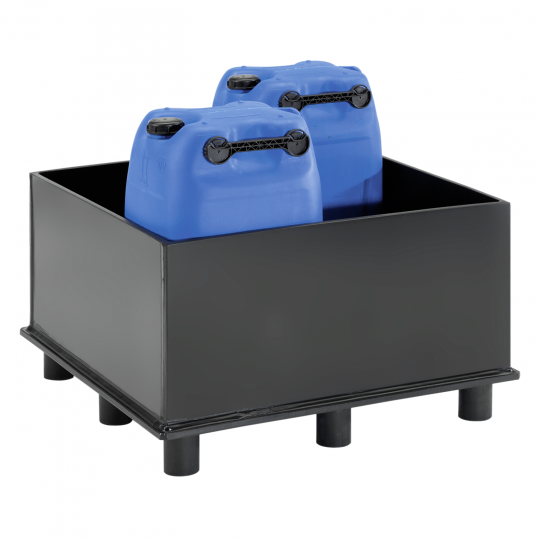 HDPE lekbak op pootjes - Protecta Solutions