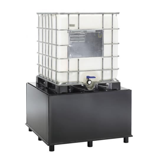 HDPE kunststof IBC lekbakken - Protecta Solutions