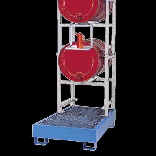 Stapelframes met opvangbak - Protecta Solutions
