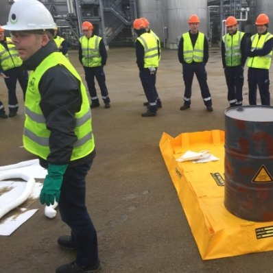 Spill response training - Protecta Solutions