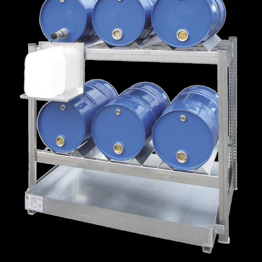 Stalen aftapstations voor 60 L vaten - Protecta Solutions