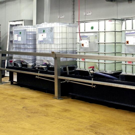 IBC opvangbakken in HDPE - Protecta Solutions