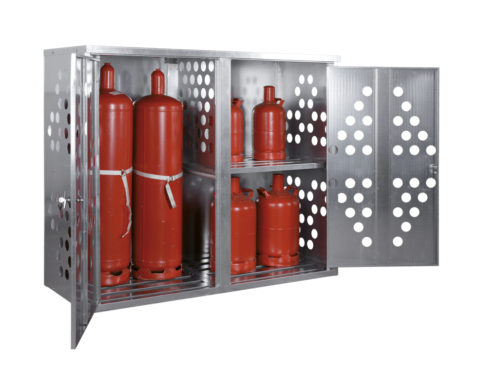 armoires pour petites bouteilles de gaz protecta solutions. Black Bedroom Furniture Sets. Home Design Ideas