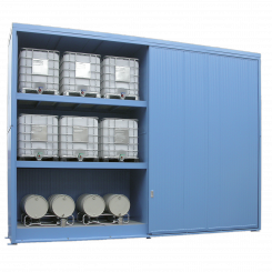 Thermisch geïsoleerde opslagcontainer