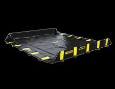 Inrijdbare flexibele opvangbakken - Protecta Solutions