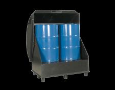 Kunststof opslagdepot HDPE voor vaten - Protecta Solutions