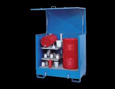 Stalen opslagstations voor kleine hoeveelheden - Protecta Solutions