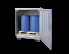 Stalen opslagdepot voor vaten - Protecta Solutions