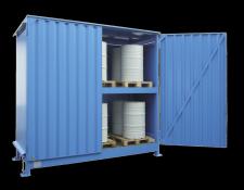 Opslagcontainer voor vaten - Protecta Solutions