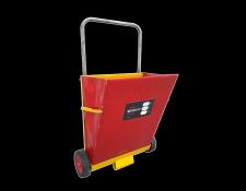 Strooiwagen voor absorptiekorrels - Protecta Solutions