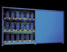 Opslagcontainer voor vaten