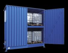 Opslagcontainer voor IBC's