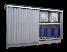 Opslagcontainer in bouwpakket