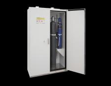 Brandwerende veiligheidskast voor gasflessen - Protecta Solutions