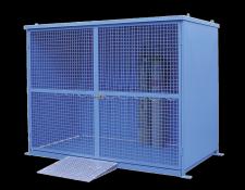 Gasflessenkooi met bodem - Protecta Solutions