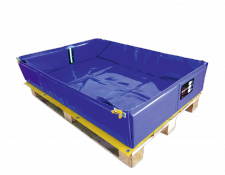 Flexibele opvangbakken - Protecta Solutions