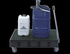 Mobiele kunststof lekbak - Protecta Solutions