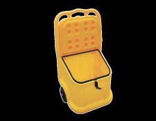 Mobiele verdeelkoffer voor absorptiekorrels - Protecta Solutions