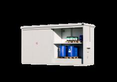 Conteneurs coupe feu avec portes coulissantes - Protecta Solutions